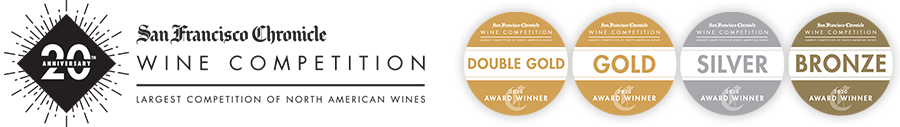 San Francisco Wine Competition: Double Gold, Gold, Silver, and Bronze award winner